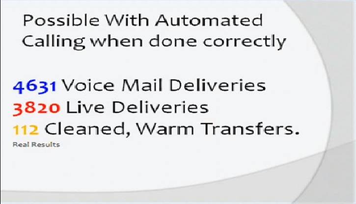 Make effective automated phone calls